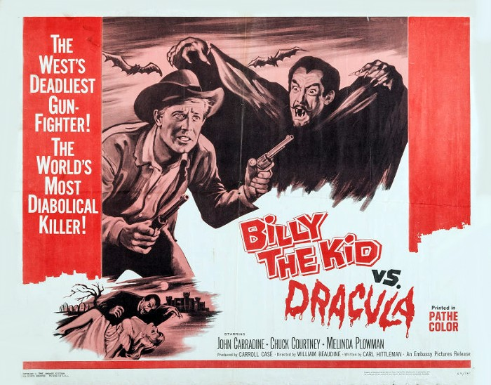 Fright Night #10 – Billy the Kid Versus Dracula (1966)