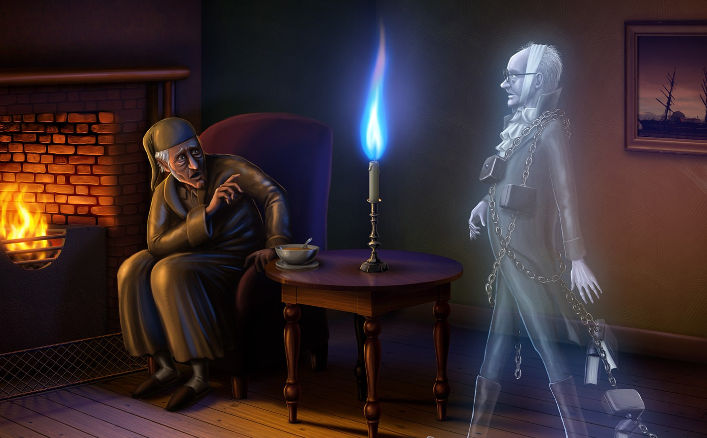 Spirit Of Christmas Past.The Ghosts Of Christmas Past How Ghost Stories Became A