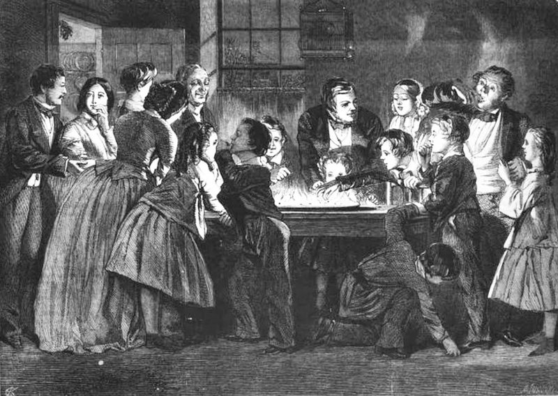 Victorian Holiday Games That Will Leave You Burned, Bruised, and Puking
