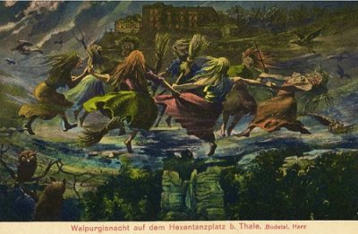Walpurgis Night: How a British Lady went from Catholic Saint to Germanic Goddess to Witch and Gave Us a Second Halloween