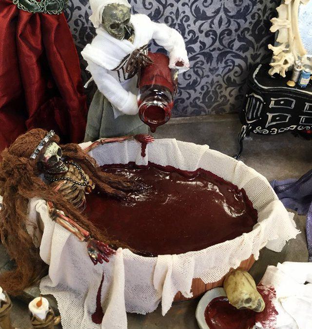 History Bones: Tiny Skeleton Dioramas Bring Morbid History to Life