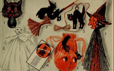 An Empire Built on Orange Crepe Paper – Dennison Halloween Ephemera