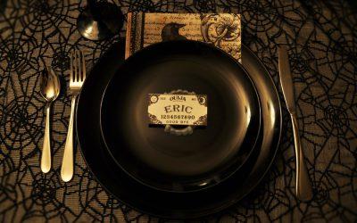 Throw This Creepy but Elegant Goth Dinner Party