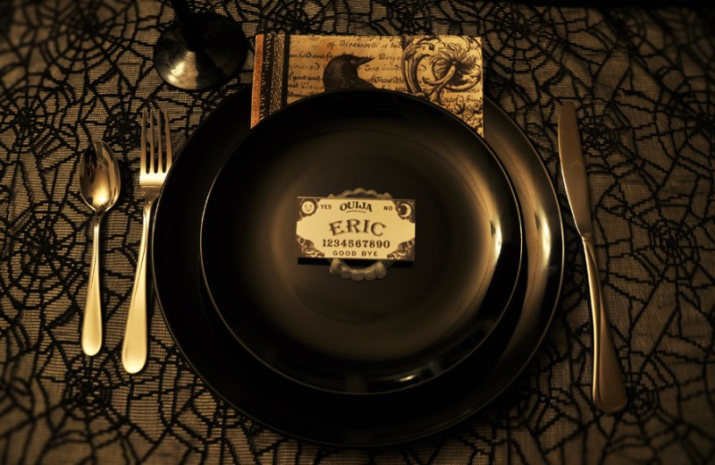 Throw This Creepy but Elegant Goth Dinner Party