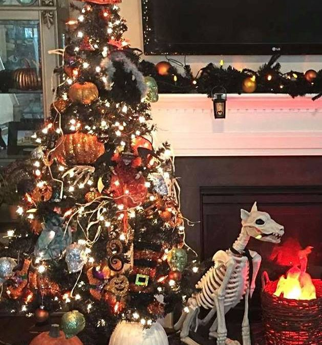 When Holidays Collide: Design Your Own Mutant Halloween/Christmas Tree