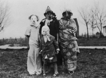 But Where are the Sexy Nurses? 25 Creepy Old-Timey Halloween Costume Photos